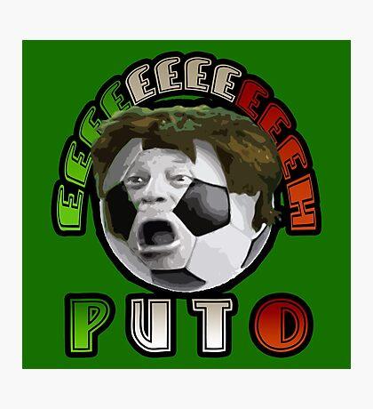 Futbol Mexicano Photographic Print