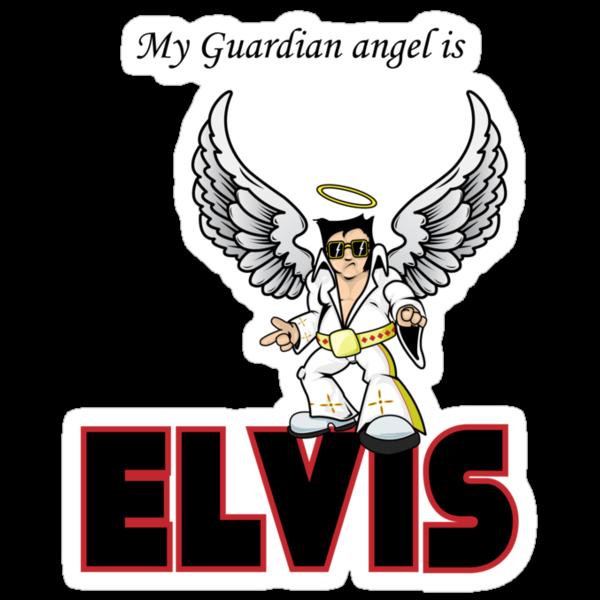 My Guardian Angel is Elvis by Iain Maynard
