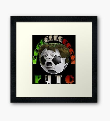 FUTBOL MEXICANO Framed Print