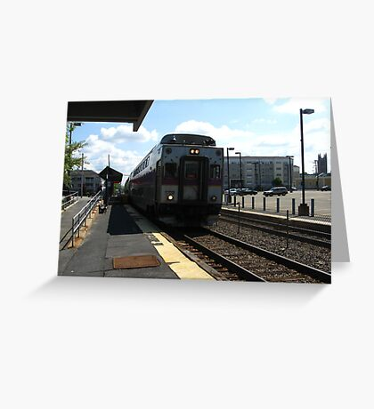 The Ole Commuter Rail Greeting Card