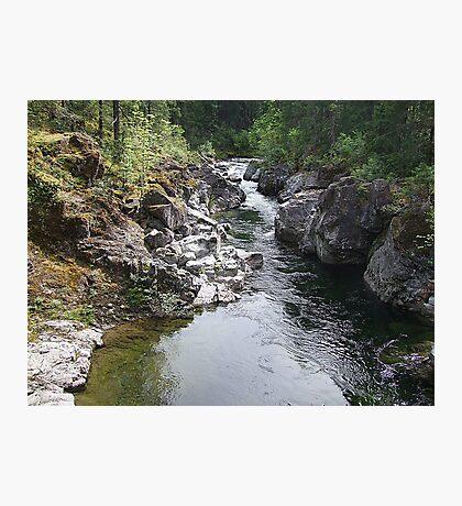 Koksilah River  Photographic Print