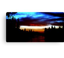 The American River near Coloma Canvas Print