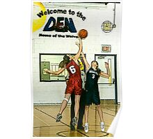 High School Basketball - West Carleton Ontario Poster