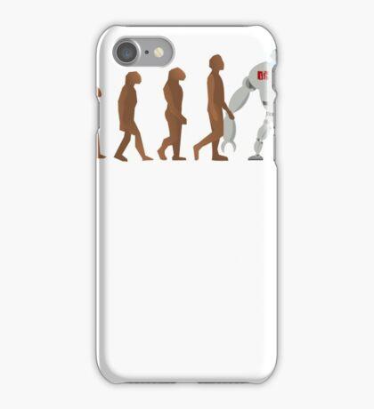 Robot Evolution iPhone Case/Skin
