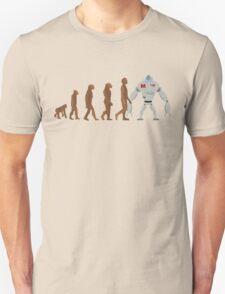 Robot Evolution Unisex T-Shirt