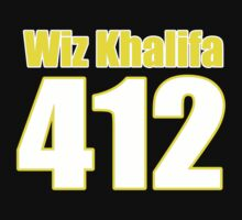 Wiz Khalifa 412 Back by thebudman