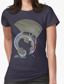 Piper Super Cub VH-PPH T-shirt Design Womens Fitted T-Shirt