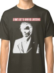 Dirty Harry - A Man's Got To Know His Limitations Classic T-Shirt