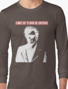 Dirty Harry - A Man's Got To Know His Limitations Long Sleeve T-Shirt