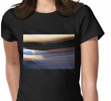 EVENING TRAFFIC Womens Fitted T-Shirt
