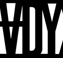 SHADYXV Sticker