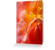 Peach Parfait - Flowery Desserts™ Greeting Card
