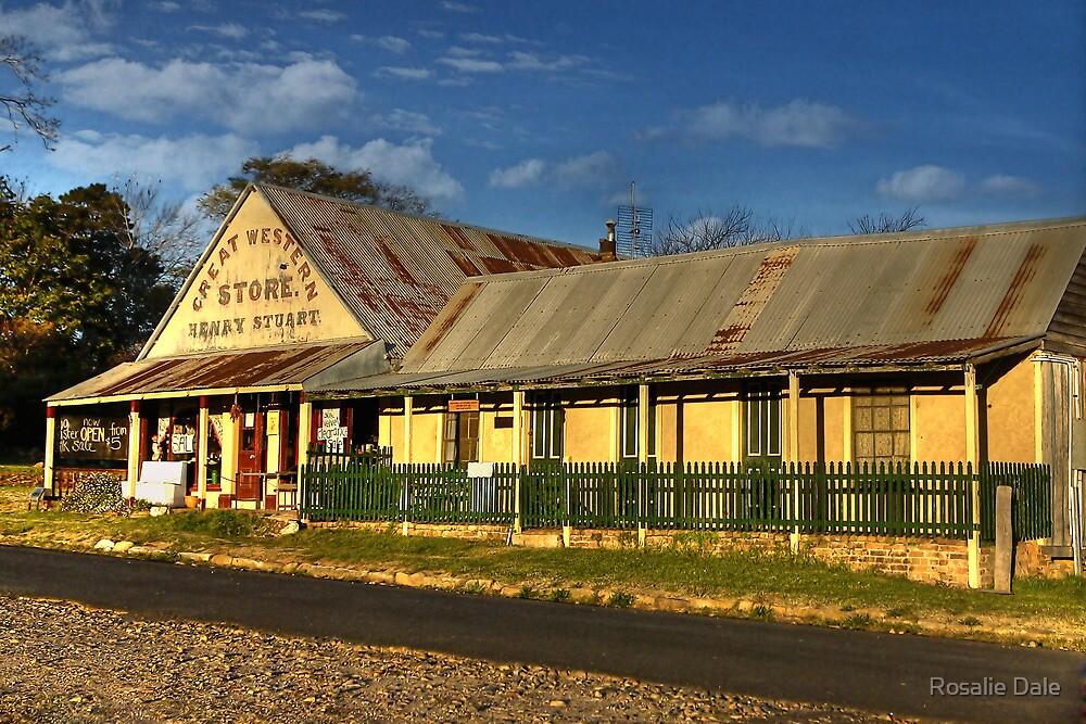 Great Western Store ~ Hill End NSW by Rosalie Dale
