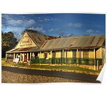Great Western Store ~ Hill End NSW Poster