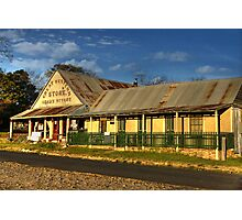 Great Western Store ~ Hill End NSW Photographic Print