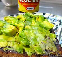 VEGEMITE under the avo! by D. D.AMO