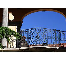 Pretty Balustrade Photographic Print
