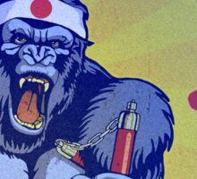 Kung Fu Kong Sticker