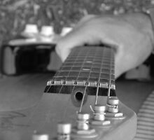 The Guitar by Lady  Dezine