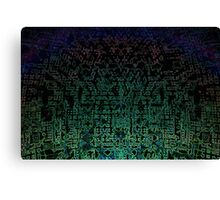 Technoglyphs Canvas Print