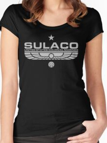 Sulaco. Women's Fitted Scoop T-Shirt