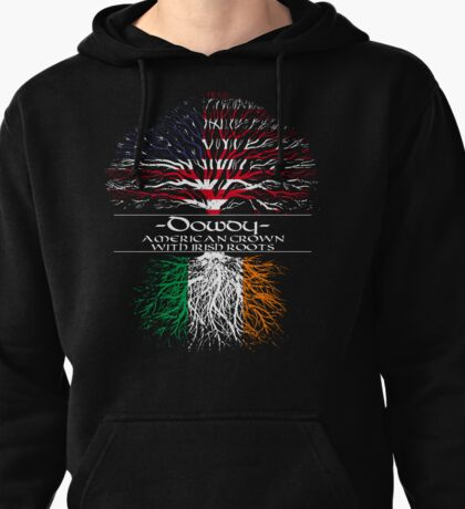 Dowdy - American Grown with Irish Roots Pullover Hoodie