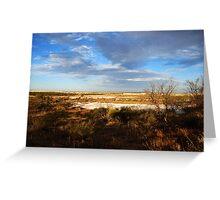 Outback WA Greeting Card