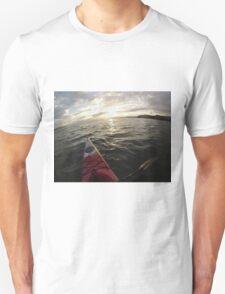 Sea Kayaking into the Sunset T-Shirt