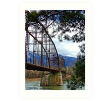 The Old Steel Bridge Art Print