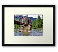 Flood Watch Framed Print