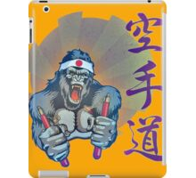 Karate Kong iPad Case/Skin
