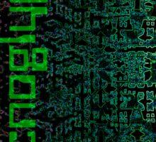 Technoglyphs Sticker