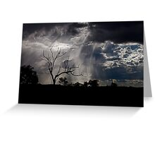 Showers of sunlight Greeting Card
