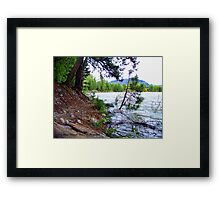 High Water 4 Framed Print