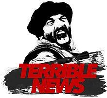 TERRIBLE NEWS! by sonacroi