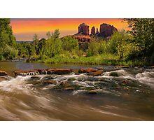 Cathedral Rock in Sedona, Arizona Photographic Print