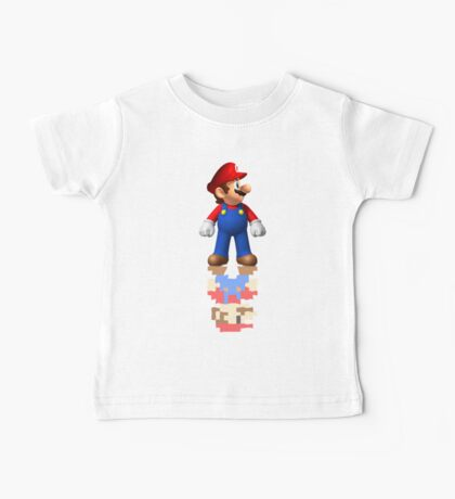 Mario Reflection Baby Tee