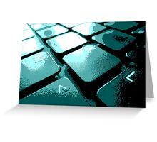 Blueboard Greeting Card
