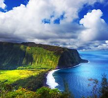 waipio valley by pauldex
