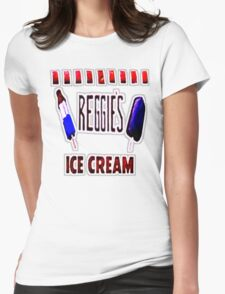 Reggie's Ice Cream #2 Womens Fitted T-Shirt