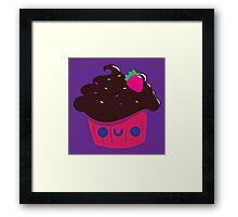 Chocolate Cupcake Framed Print