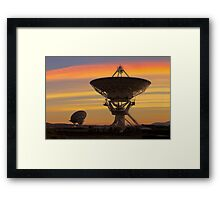 Picture of Radio Telescopes Framed Print