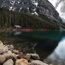 Lake Louise in Alberta, Canada by Margaret Metcalfe