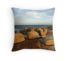 Coastal Sculptures Throw Pillow