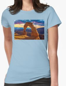 Arches National Park Womens Fitted T-Shirt