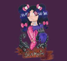 Scorpio Seedling Womens Fitted T-Shirt