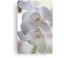 White Rock Orchids Canvas Print