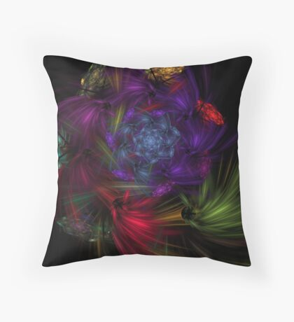 Flavor Shooters Throw Pillow