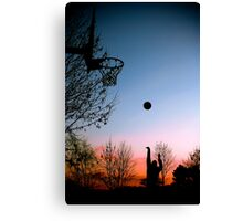 Hoops. Canvas Print