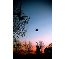Hoops. Photographic Print